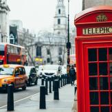 iconic red telephone box