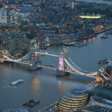 London bridge and thames