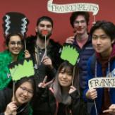 frankenreads students