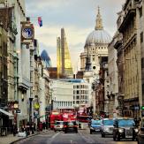 London St. Paul's backdrop
