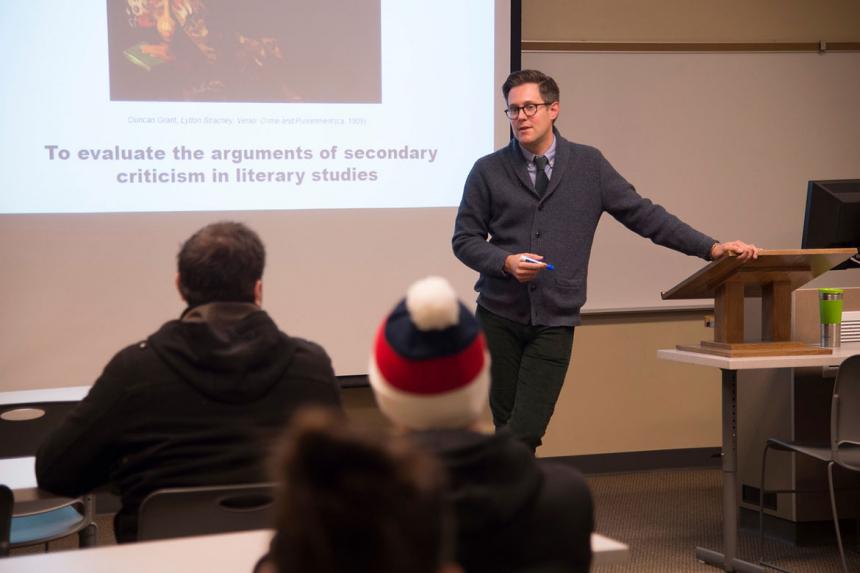 Matthew Levay Teaching