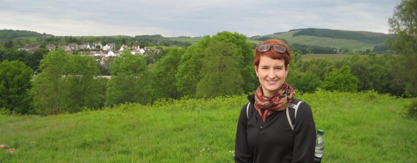 Juliet Shields in Scotland