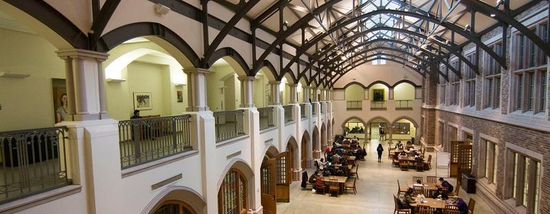 Mary Gates Hall Atrium