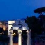 Moonlit Forum Rome
