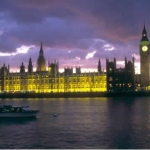 Houses of Parliament and Big Ben at night
