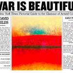 David Shields, War Is Beautiful