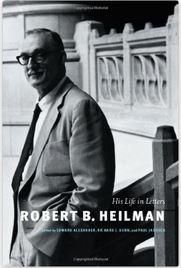 Robert B. Heilman: His Life in Letters book cover