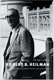 Robert B. Heilman: His Life in Letters book cover