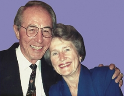 Robert Hardy Barnes and his wife, June Yeakel Barnes