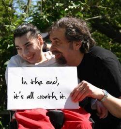 """""""In the end, it's worth it"""""""