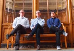 Medina, Bergstrom, and Wang seated