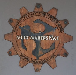 photo of SoDo MakerSpace logo