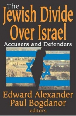 The Jewish Divide Over Israel book cover