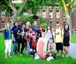 UW English majors at the 2013 Rutgers English Diversity Institute