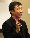 Professor Ishii, presumably saying smart things