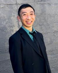 Professor Ishii, photographed against that Seattle grey