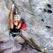 Alysse Hotz Climbing