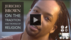 YouTube link to #Poet Jericho Brown on Religion, Flowers, and Insight through Writing